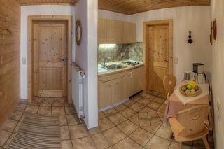 Küche - Ferienwohnung Apfelbaum