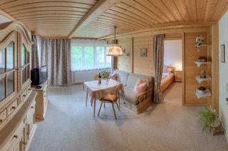Wohnzimmer - Ferienwohnung Apfelbaum