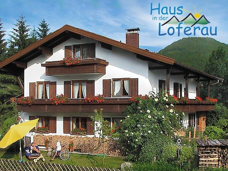 Ferienwohnung in der Loferau Reit im Winkl | Chiemgau Unterkünfte