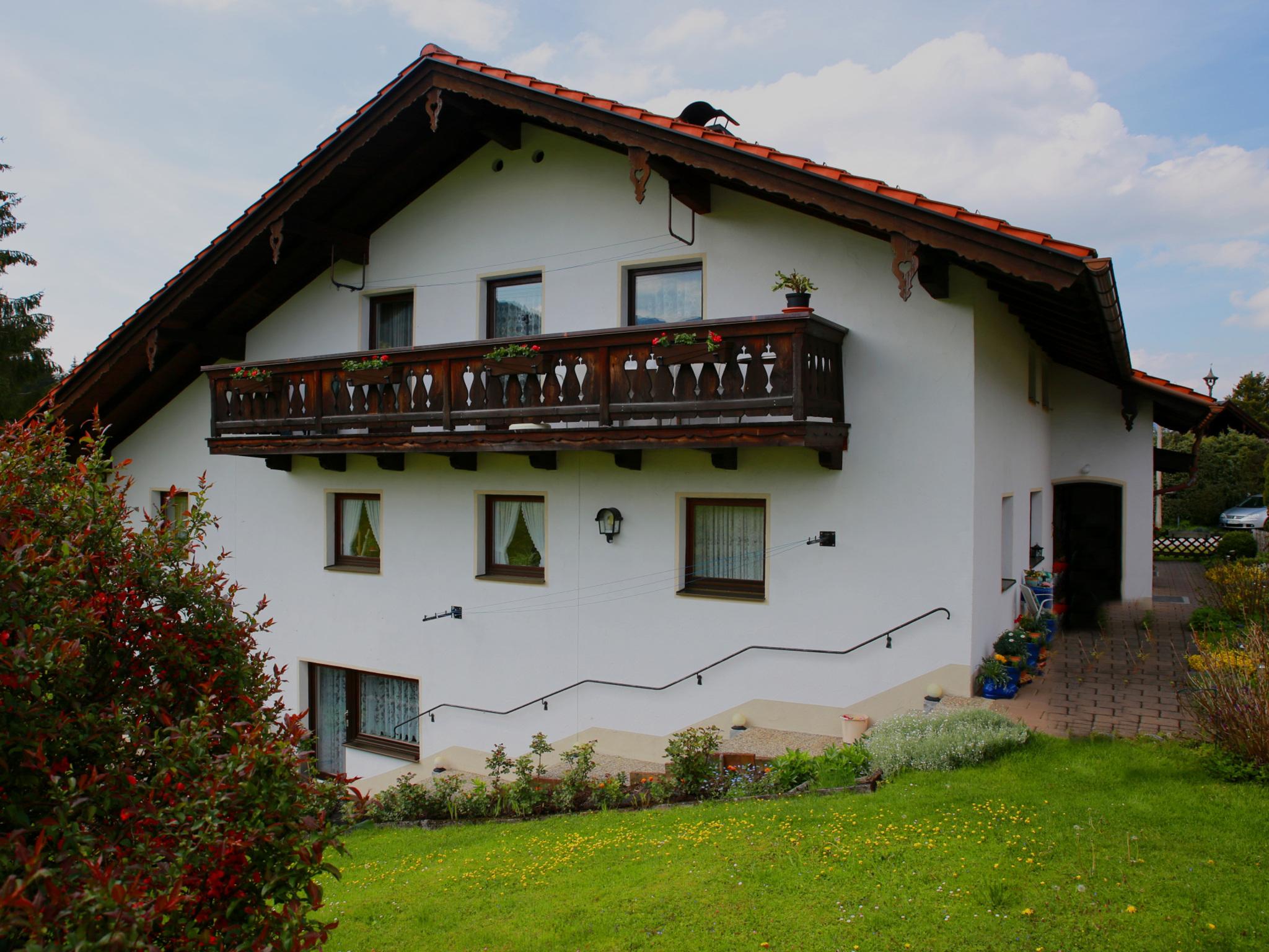 Haus Bergfrieden - Chiemgau Karte (DE Inzell). Fer