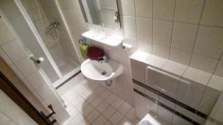 Ferienwohnung 2 Watzmann Dusche WC
