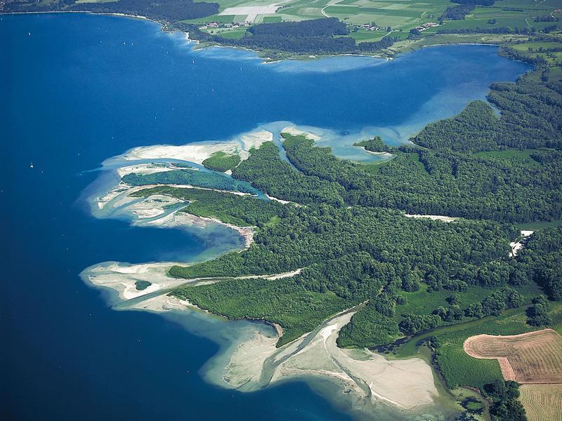 Naturführung: Erlebnisbootsfahrt an das Delta der Tiroler Achen