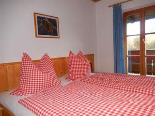 """Schlafzimmer in der Ferienwohnung """"Wendelstein"""""""
