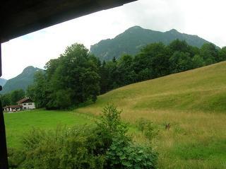 Beispiel Bergblick vom Balkon Gästehaus Zaggl