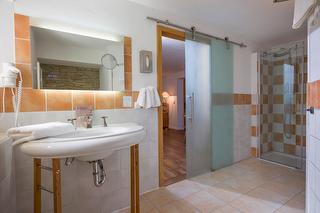 Badezimmer im Wohlfühlzimmer