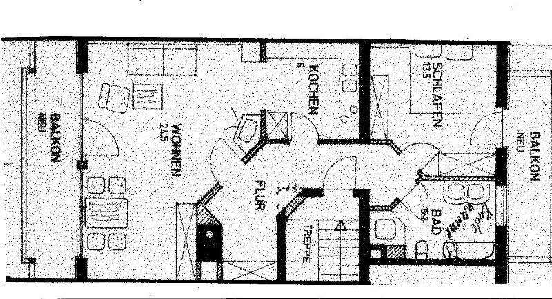 Ferienwohnung Haus Brunhilde (DE Reit im Winkl). 2-Raum-Ferienwohnung, 47m², Dusche/WC, Balkon und Küche (710757), Reit im Winkl, Chiemgau, Bayern, Deutschland, Bild 7