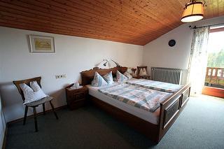 Ferienwohnung A Schlafzimmer
