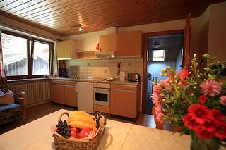Ferienwohnung A Wohnküche