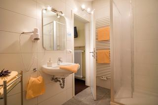 Badezimmer im Chalet