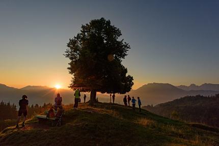 Wanderung zum Sonnenaufgang