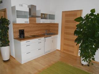 Küche Apartment und Zimmer / Urheber: Helmberger / Rechteinhaber: © Helmberger
