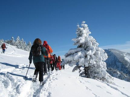 Schneeschuhtour - ein Traum in Weiß!