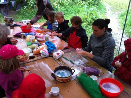 """Familiencamp """"Wilde Familie"""" - vom Säugling bis zu den Großeltern"""