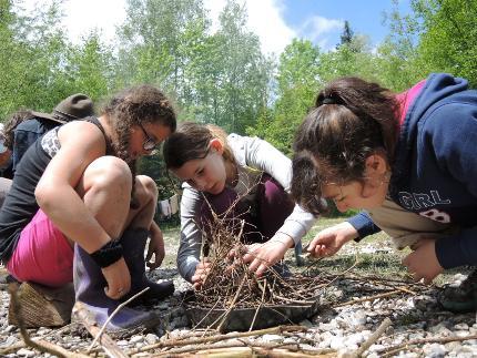Kinder- und Jugendcamps - Ferienprogramm im Wildniscamp