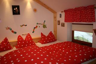 Kinderschlafzimmer in unserer Ferienwohnung