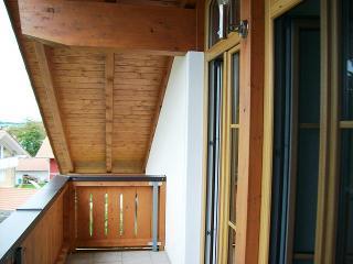 Geschützter Balkon nach Osten