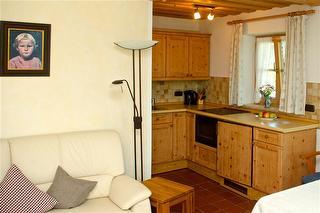 Wohnung Seeblick Wohnraum mit Küche