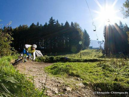 """""""Einstieg in den Bikepark"""" - Mountainbike Fahrtechnikkurs im Bikepark Samerberg"""