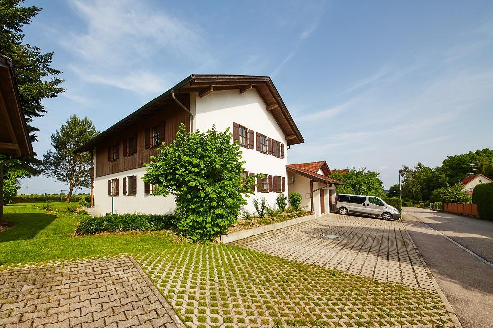 Sonne in Gasteig (DE Unterneukirchen). Ferienwohnu Ferienwohnung  Bayern
