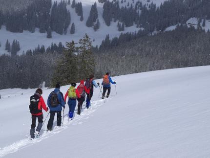 Schneeschuhgehen zum Kennenlernen - Einsteigerkurse