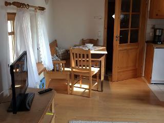 Sitzbereich in der Ferienwohnung Andrea