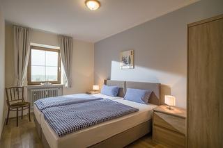 Schlafzimmer im App. Nr. 24