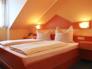 Mansarden-Doppelzimmer als Einzelzimmer