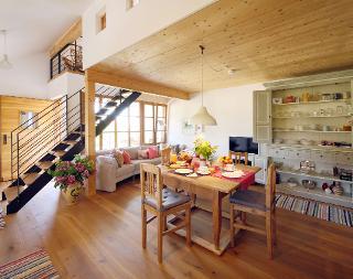 gedeckter Tisch im Backhaus