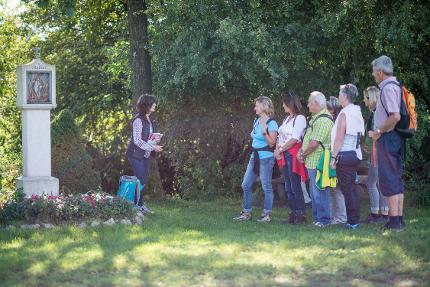 Begleitete Pilgerwanderung ab Heiligenstatt halbtags, Start 9:15 Uhr