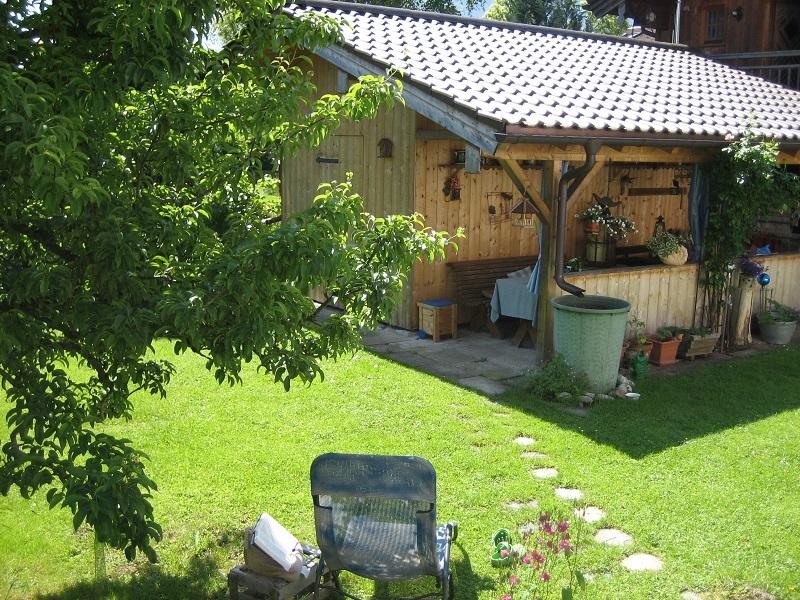 Küchenzeile Terrasse ~ kaiserblick (de brannenburg) ferienwohnung 57qm