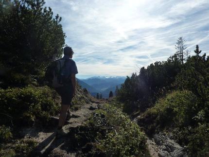 Chiemgauer Bilderbuch Überschreitung - geführte Hüttenwanderung