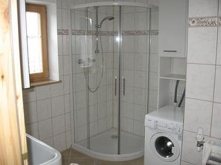 Fewo Single + Kind - Badezimmer -