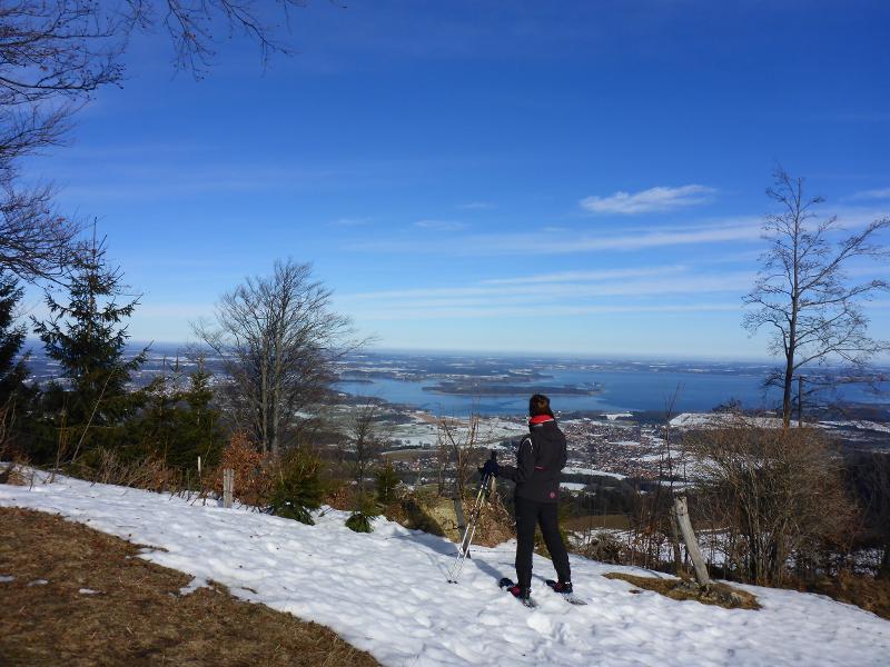 Haindorfer Berg - Aussichtskranzel über Aschau (Mittelschwere Schneeschuhwanderung)