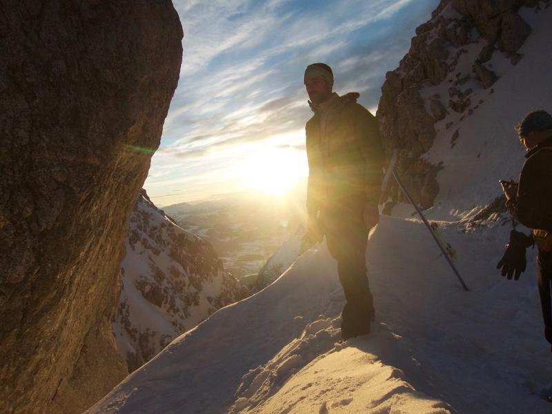 Tipp für Einsteiger: Leichte Skitouren im Chiemgau - leichte geführte Skitour