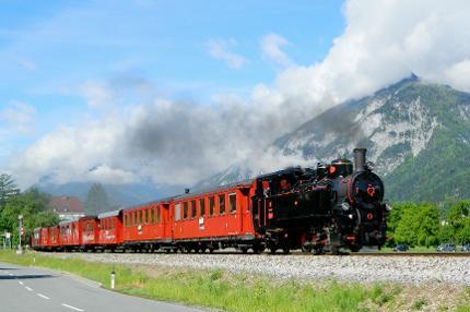 """""""Berge & Bahn"""" Fahrt mit dem Dampfzug der Zillertalbahn"""