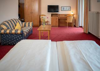 Hotel Luitpold Zimmerbeispiel Haus 2 Südseite