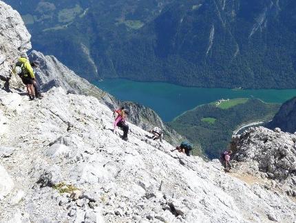 Watzmannüberschreitung - die Schönste aller Gratwanderungen