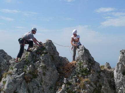 Erlebnis Chiemgau - Klettern lernen in drei Tagen - Vorsteigskurs Fels (Modul 2)