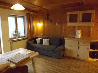 Wohnzimmer - Ferienwohnung Nelke