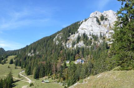 Geführte Wanderung zum Brünnsteinhaus über die Mühlau