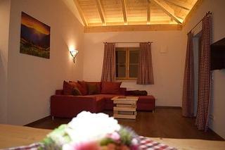 Wohnbereich Doppelhaushälfte Alpenglühen