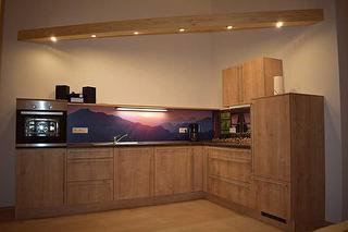 Küche Alpenglühen