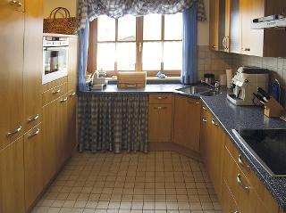 Küche Ferienwohnung Achental