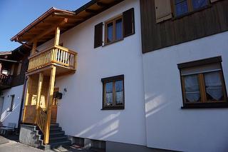 """Eingang Ferienwohnung """"Kaiserblick²"""" mit Westbalkon"""