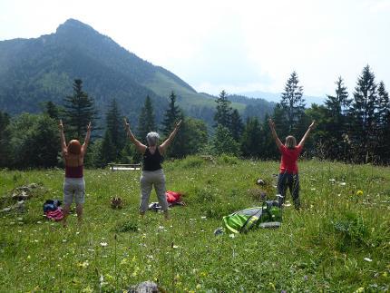Wander- und Yoga-Erlebnis im Chiemgau und Mangfallgebirge