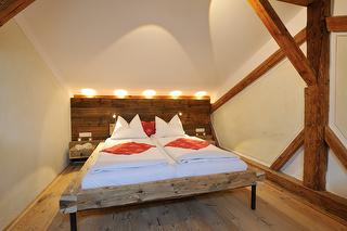 5 Sterne Ferienwohnung Bär, Elternschlafzimmer, Urlaub in Bayern