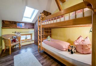 Ferienwohnung Bauernhaus, Kinderzimmer, Urlaub mit Kinder