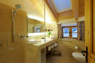 Ferienwohnung Fuchs, Badezimmer, Familienurlaub