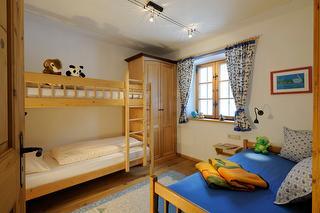 Ferienwohnung Igel, Kinderzimmer, Familienurlaub