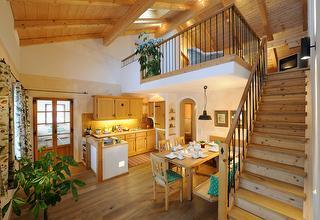 5 Sterne Ferienwohnung Storch, Ansicht, Urlaub auf dem Bauernhof in Bayern
